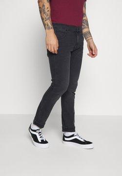 Wrangler - LARSTON - Slim fit jeans - black dirt