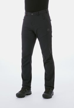 Mammut - Pantalones montañeros largos - black