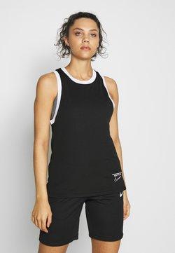 Nike Performance - DRY TOP - Tekninen urheilupaita - black/white