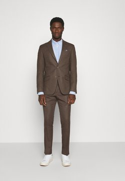 Bugatti - KARTE - Anzug - brown