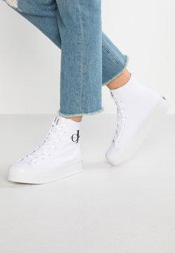 Calvin Klein Jeans - ZABRINA - Sneaker high - white