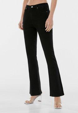 Bershka - Jeans a zampa - black