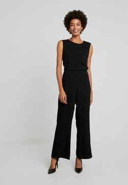 Marc O'Polo - OVERALL SLEEVELESS LONG SLIT - Combinaison - black