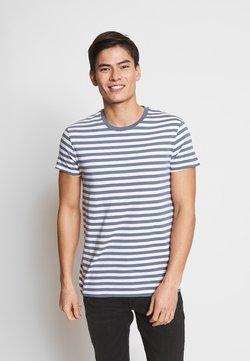 Samsøe Samsøe - PATRICK - T-Shirt print - mirage white