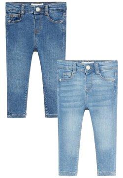 Mango - 2 PACK - Slim fit jeans - bleu moyen