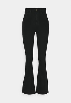 Pieces - PCPEGGY FLARED - Flared Jeans - black