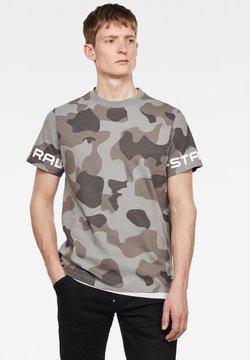 G-Star - CAMO GSTAR - T-Shirt print - charcoal birch camo