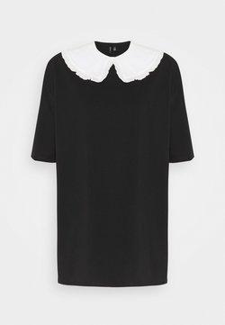 Vero Moda Tall - VMINFINITY OVERSIZED COLLAR - Camicetta - black/snow white