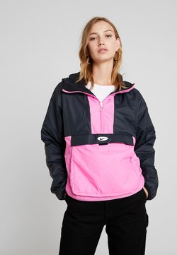 Nike Sportswear - ANORAK - Giacca da mezza stagione - black/china rose