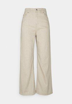Weekday - LINEAR  - Flared Jeans - beige