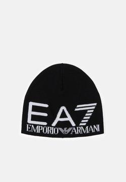 EA7 Emporio Armani - UNISEX - Bonnet - black/white