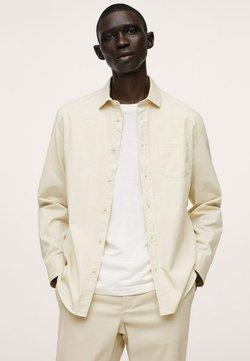 Mango - RELAXED-FIT - Koszula - ivory white