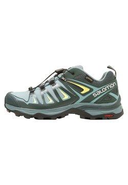Salomon - X ULTRA 3 GTX  - Chaussures de marche - artic/darkest spruce/sunny lime