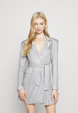 4th & Reckless - JUNO DRESS - Cocktail dress / Party dress - silver metallic