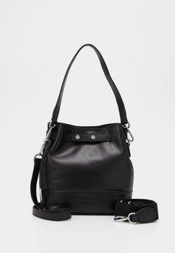 Marc O'Polo - BUCKET BAG - Handtasche - black