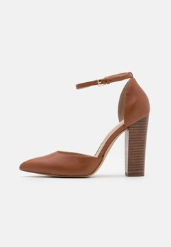 ALDO - NICHOLESD - High Heel Pumps - cognac