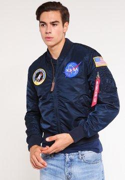 Alpha Industries - NASA - Giubbotto Bomber - replica blue