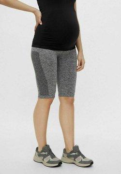 MAMALICIOUS - MLPOSH - Shorts - medium grey melange