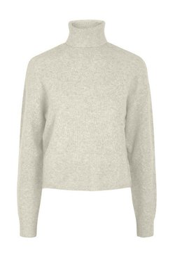 Pieces - Strickpullover - whitecap gray