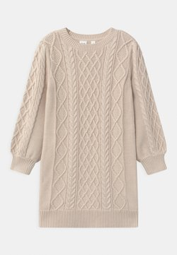 GAP - GIRL CABLE - Robe pull - soft ivory