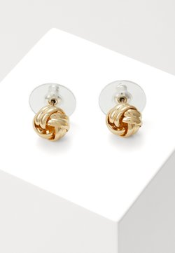 SNÖ of Sweden - CLAIRE KNOT SMALL - Earrings - gold-coloured