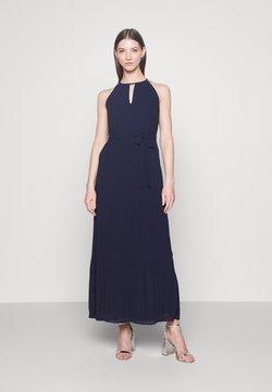 Vila - VIKATELYN HALTERNECK DRESS - Robe de cocktail - navy blazer