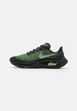Nike Performance - AIR ZOOM PEGASUS 37 - Neutrala löparskor - black/reflect silver/ghost green