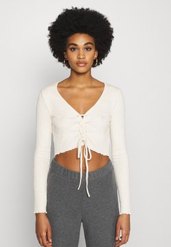 Nly by Nelly - CARDIGAN - Gilet - creme