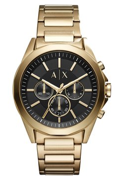 Armani Exchange - Rannekello - goldfarben