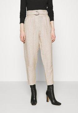 Marks & Spencer London - Spodnie materiałowe - beige
