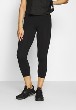 Cotton On Body - ACTIVE CORE CROPPED - Medias - black