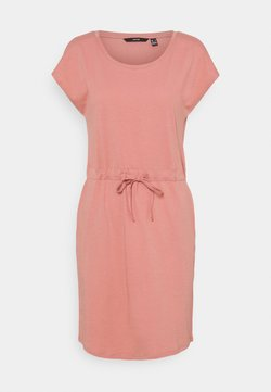 Vero Moda - VMAPRIL SHORT DRESS COLOR - Jersey dress - old rose