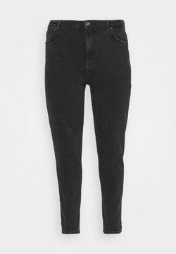 Pieces Curve - PCLEAH MOM - Jeans baggy - black