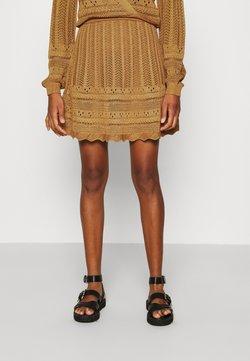 NIKKIE - JADE SKIRT - Minifalda - brown