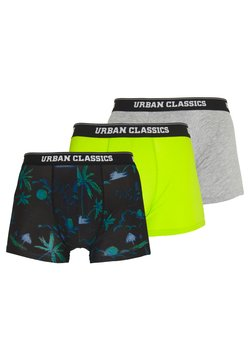 Urban Classics - BOXER SHORTS 3 PACK - Shorty - island/electiclime/grey