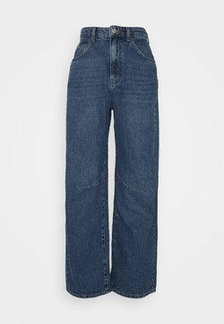 BDG Urban Outfitters - LOGAN BARELL LEG CARPENTER  - Relaxed fit -farkut - dark vintage