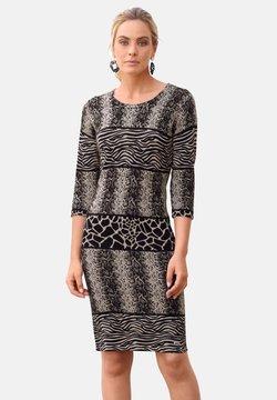 Amy Vermont - Etuikleid - grau,schwarz,beige