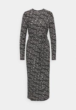 Vero Moda - VMNAVA DRESS - Vestito estivo - black/ohanna birch