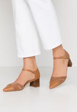 Anna Field - LEATHER CLASSIC-HEELS - Pumps - camel