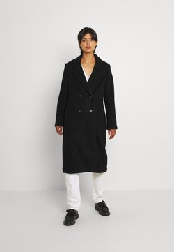 Monki - LOU COAT - Klasyczny płaszcz - black