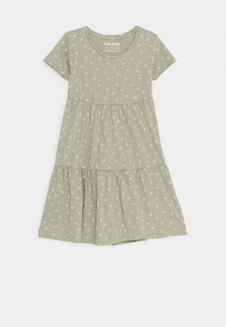 Blue Seven - TEEN GIRL DRESS HEARTS - Jerseykleid - khaki