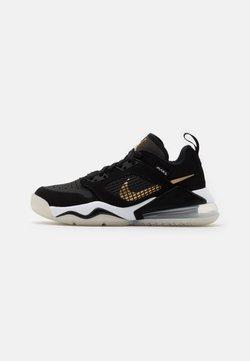 Jordan - MARS 270 LOW UNISEX - Basketbalschoenen - black/metallic gold/dark smoke grey/white/pure platinum