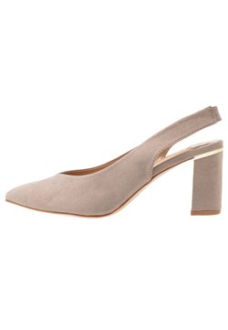 Dorothy Perkins Wide Fit - WIDE FIT EMILY SLING  - Pumps - taupe