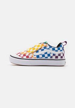 Vans - COMFYCUSH NEW SKOOL UNISEX - Sneakers basse - multicolor/true white