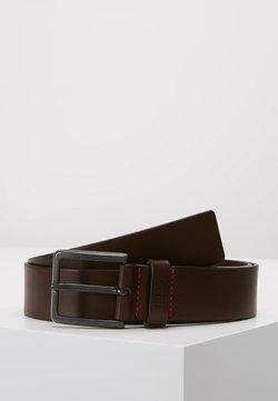 HUGO - GIONIO - Gürtel - dark brown