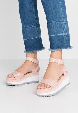 Call it Spring - RILEYY - Korkeakorkoiset sandaalit - light pink