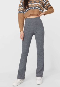 Stradivarius - Stoffhose - dark grey