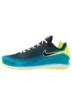 Nike Performance - AIR ZOOM VAPOR X - Buty tenisowe uniwersalne - neo turquoise/black/green/hot lime