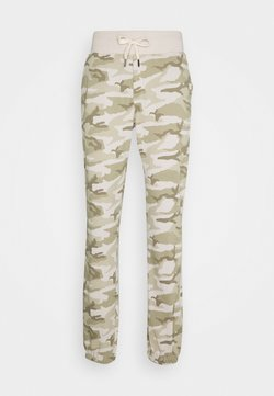 Schott - PHIL COMBAT - Pantalon de survêtement - desert beige