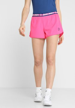 BIDI BADU - RAVEN TECH  SHORTS 2-IN-1 - kurze Sporthose - pink/dark blue